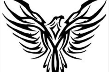tribal eagle tattoo design image tb1088