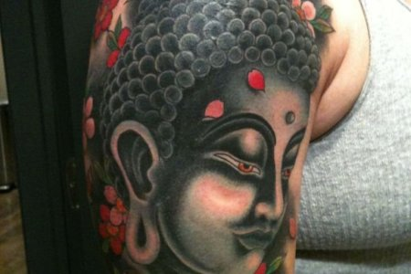 frankie buddhist tattoo design tb1092