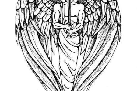 guardian angel tattoo9 tb12136