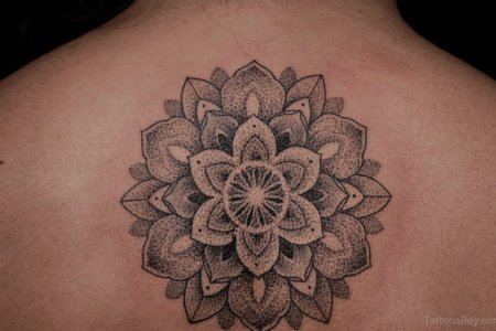 mandala tattoo design on back 5 tb1054