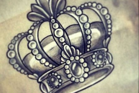 crown tattoo design 5 tb1044