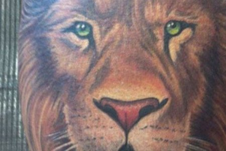 lion tattoo design 4 tb1077