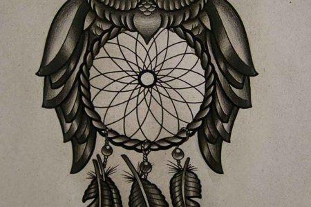 owl tattoo design 5 tb14063