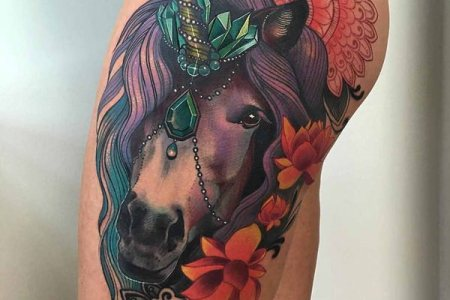 unicorn tattoo designs 38