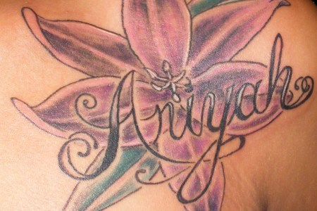 baby name tattoo ideas