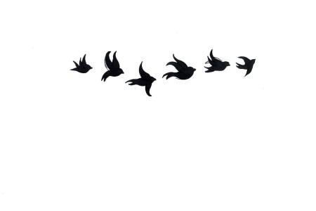 bird silhouette tattoo