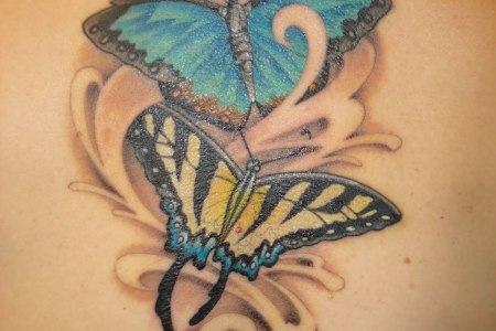 erfly tattoo designs for women