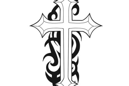 christian cross tattoos