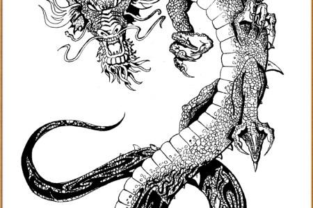 anese dragon tattoo