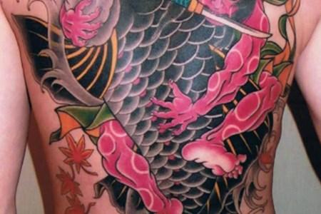 anese koi tattoo