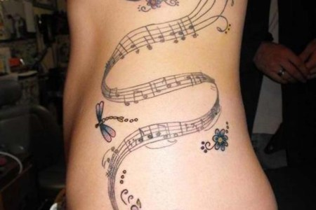 music quote tattoos