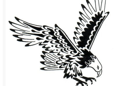 tribal eagle tattoo1