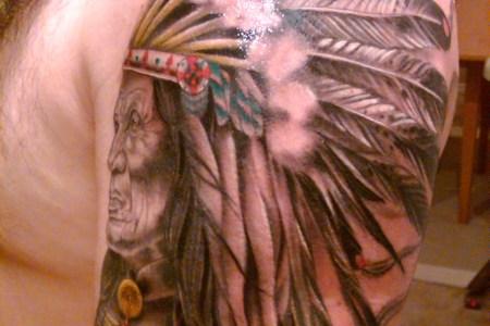 indian warrior tattoos
