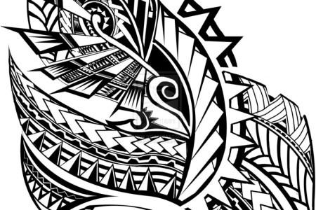 samoan tribal tattoo 819x1024