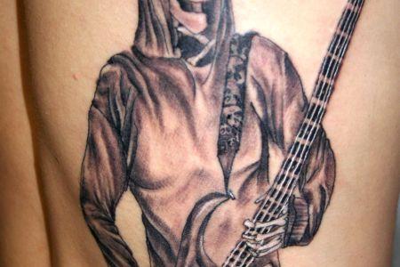 guitar tattoo images