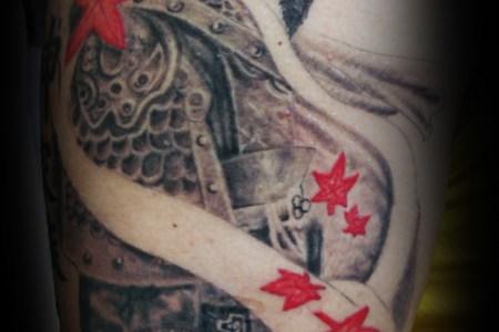 anese samurai tattoo