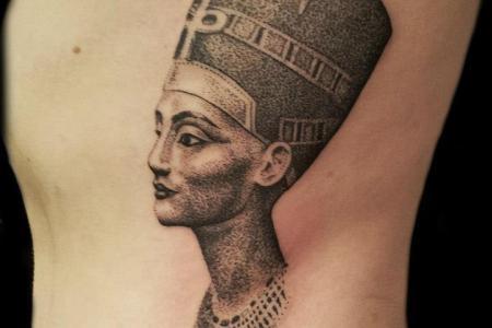 queen neferi tattoo