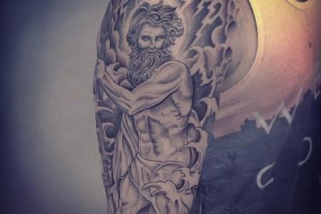 zeus tattoo images