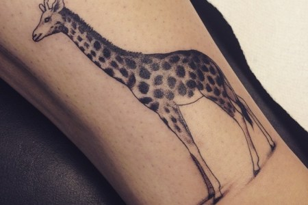 tattoos of giraffes