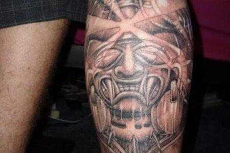 aztec best tattoo design 2