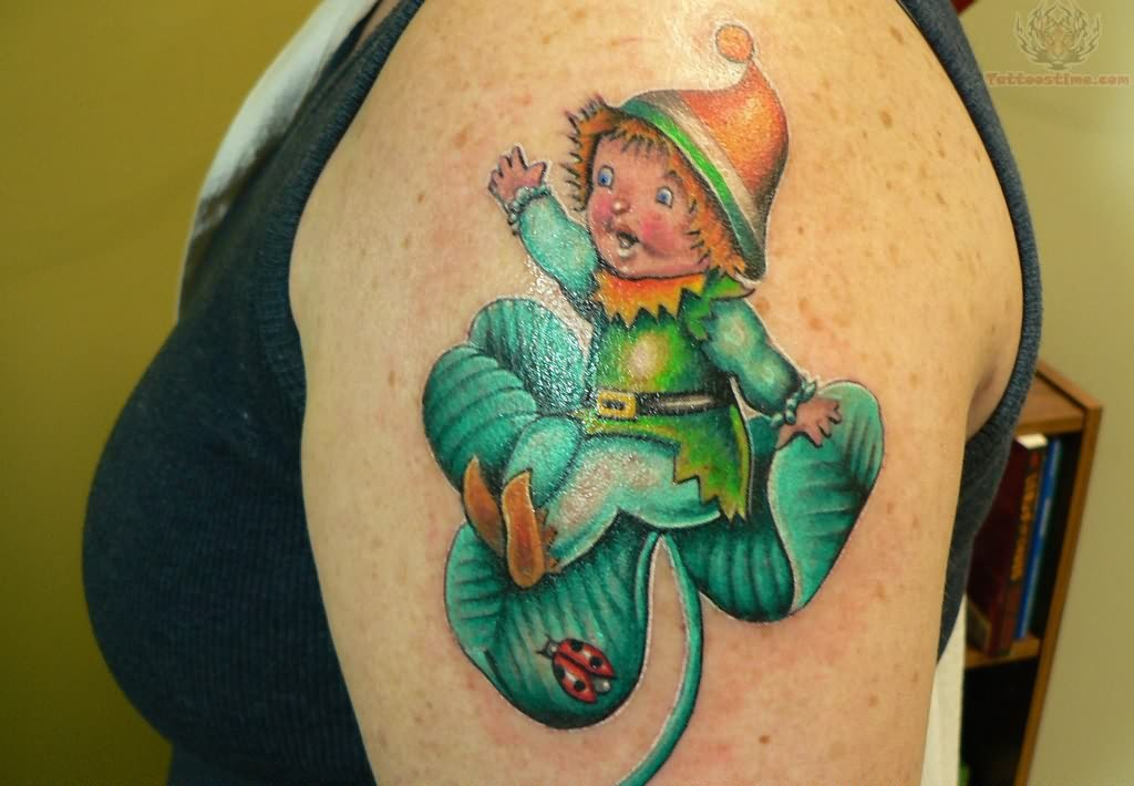 Leprechaun Kid Tattoo of 1 by Michele