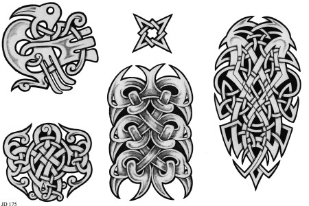 celtic tattoo design collection