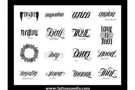 Generator Free Ambigram Tattoos Designs