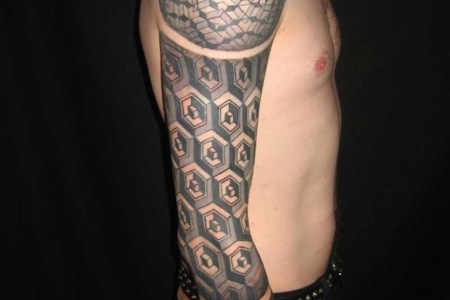 amazing gastric sleeve tattoo