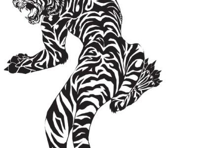 free tiger tattoo design