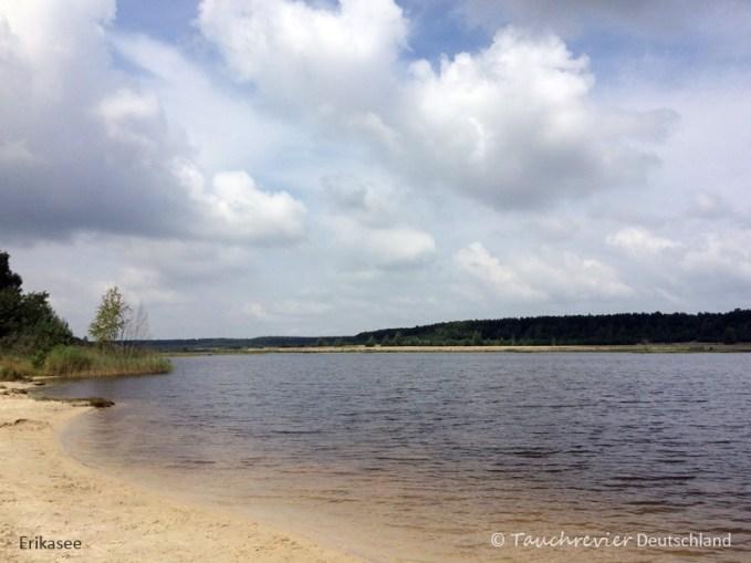 Lausitzer Seenland, Tauchen in Sachsen. Tauchen in Brandenburg