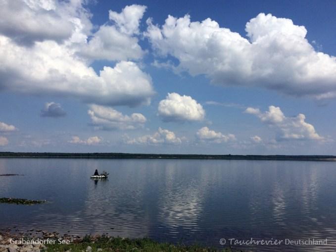 Gräbendorfer See, Tauchen im Gräbendorfer See, Tauchen in Brandenburg