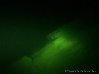 Steilkante im Starnberger See, Tauchen im Starnberger See, Tauchen in Bayern