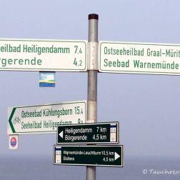 Wegweiser Ostsee Nienhagen, Tauchen in der Ostsee, Tauchen in Mecklenburg-Vorpommern