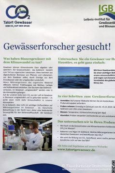 Tatort GewässerAquaponik, Leibnitz-Institut für Gewässerökologie und Binnenfischerei