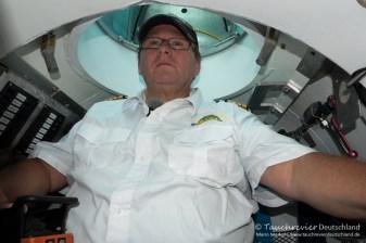 Kapitän Stephan Gildehaus, Tauchen im Kreidesee Hemmoor, Tauchen in Niedersachsen