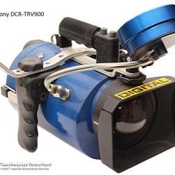 SONY-DCR-TRV900, Unterwasser Gehäuse, Eigenbau, Historisches Tauchen