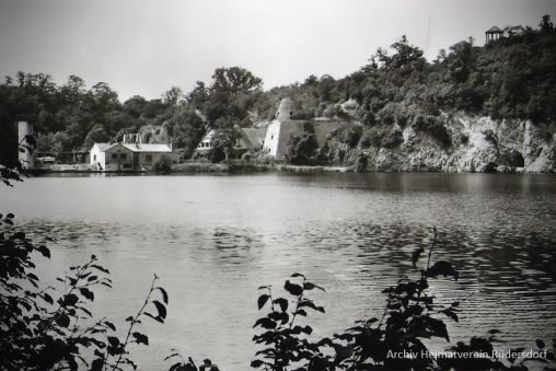 Heinitzsee, Tauchen im Heinitzsee, Historisches Tauchen