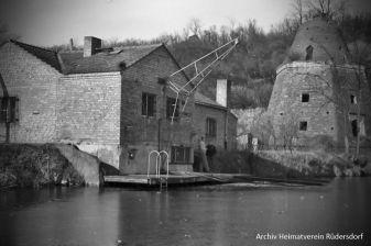 Vereinshaus, Tauchfreunde, Tauchen im Heinitzsee, Historisches Tauchen