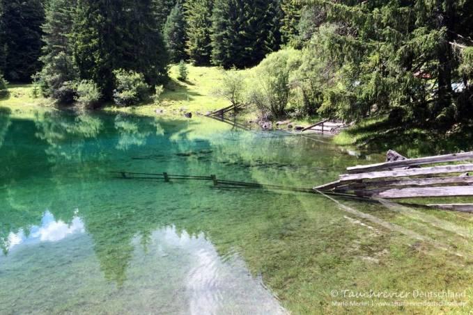 Samaranger See, Tauchen im Fernsteinsee, Tauchen im Samaranger See