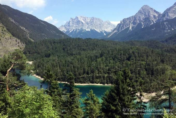 Blindsee, Tauchen im Blindsee, Tauchen in Österreich