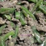 BEEF AND CAPSICUM STIR-FRY