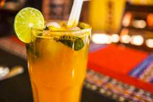 "Passion fruit ""Chilcano"""