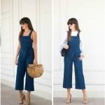 Two Ways To Wear A Denim Jumpsuit