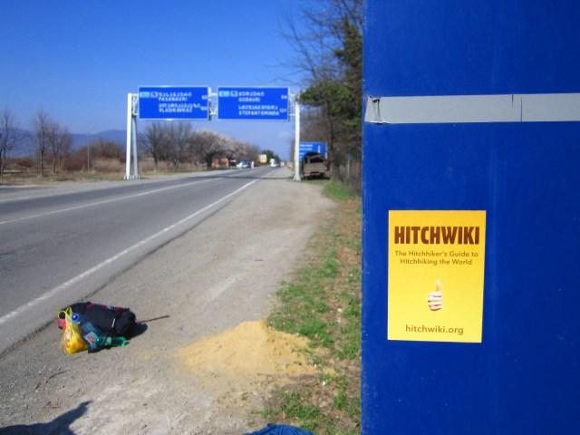 Hitchhiking to Gudauri