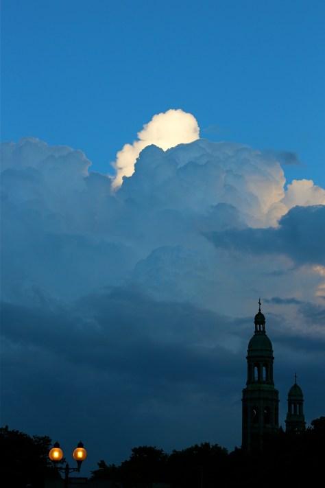 Clouds over Saint Henri - Summer 2013