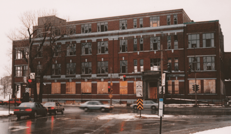 Former Canadian Vickers Building, ca. 1990 by Michel Seguin
