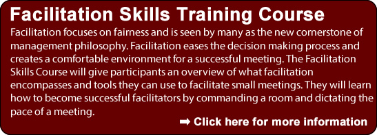 Facilitation Skills Training Course