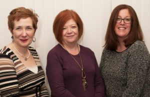 Monahans HR and Health and Safety l-r Debbie Anstis, Peta Fry, Emma Davis