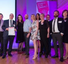The team from Excalibur Communications - SW Responsible Small Business of the Year