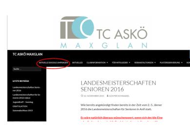 Homepage Maxglan